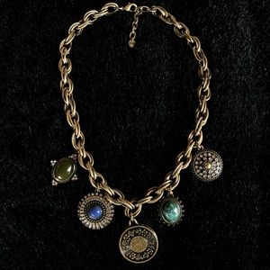 ✨Loft Boho Medallion Necklace